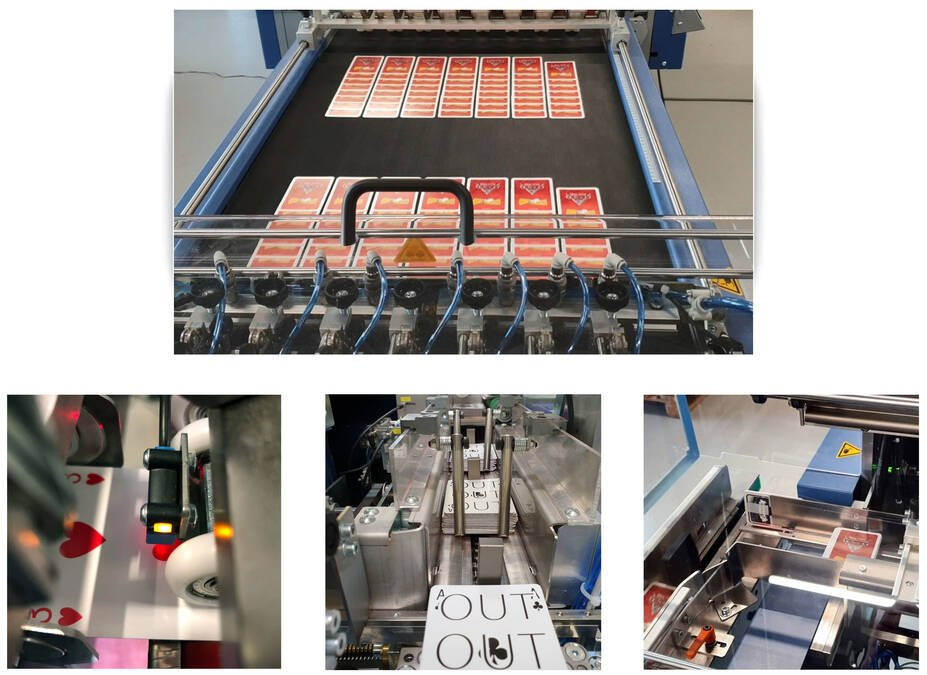 Bograma, punching, rotary die cutter, rotary, die, cutter, short setup, fast setup, short changeover, fast changeover, card production system, automatic, automated