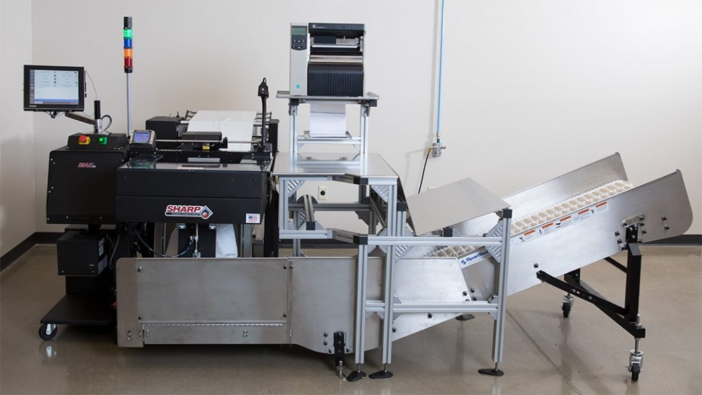 automated poly bagging system, MAX 20, sx, pregis, sharp